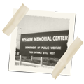 the sign for Hissom Memorial Center
